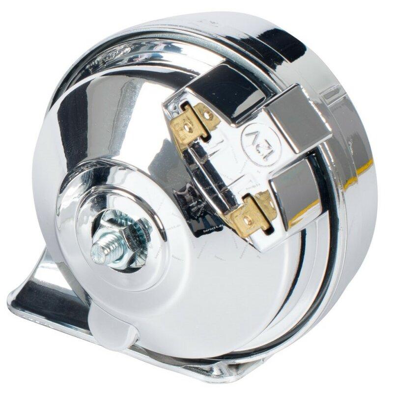 stebel hupe tm80 1 ac chrome 12v 410hz de 22 50. Black Bedroom Furniture Sets. Home Design Ideas